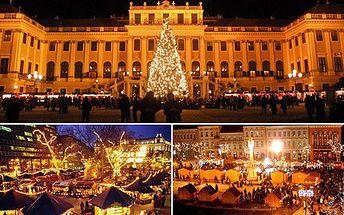 Vánoční Vídeň má atmosféru, punč a krásná výzdoba. Dýchne na Vás ta pravá vánoční pohoda! 40% sleva na celodenní zájezd na vánoční trhy s prohlídkou krásně vyzdobeného města a službami delegáta.