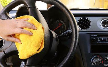 Interiér Vašeho vozidla zazáří čistotou, vyčistíme jej s péčí a ochotou. 50% sleva na kompletní ruční vyčištění vozidla, vyluxování interiéru, umytí, ošetření, konzervace vnitřních plastů a mytí skel.