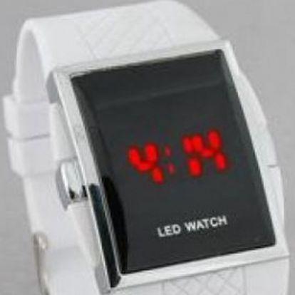 LED hodinky v bílé nebo černé barvě, které ohromí Vás i Vaše okolí,TOP módní doplněk s 52 % slevou !