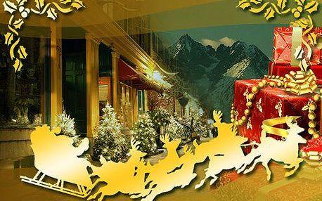Ani Vy nesněte o bílých Vánocích. Vychutnejte si je v Tatrách bez shonu a stresů za ceny na dně!