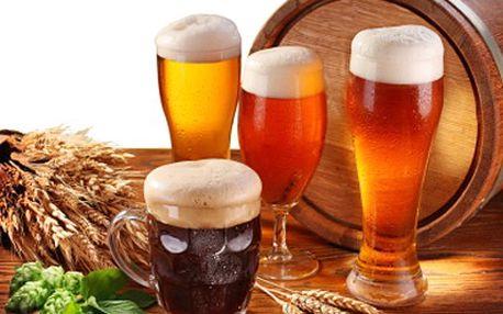 Milovníky piva pod stromečkem jistě potěší sada exkluzivních piv s velkou mašlí. Sestavte si vlastní pivní mix se slevou 30 %.