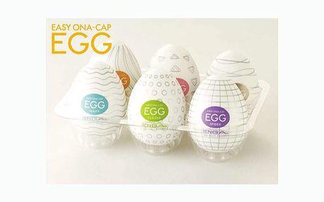 Jedinečná nabídka určená především pro pány! Skvělý erotický pomocník Tenga Egg za sexy cenu 99 Kč! Dámy neváhejte a překvapte svého partnera tímto originálním dárkem!