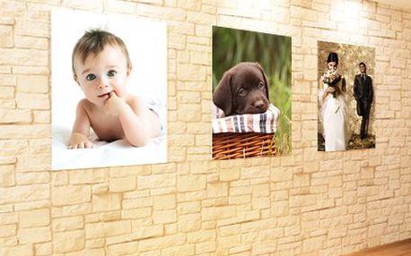 Fotoplátno doladí interiér dle Vaší představy, umístěte jej do ložnice či do haly. 52% sleva na fotoplátno 40x60 cm s libovolným motivem, použijeme fotky Vašich dětí, domácích mazlíčků či krajinek, fotoplátno potěší i jako dárek.