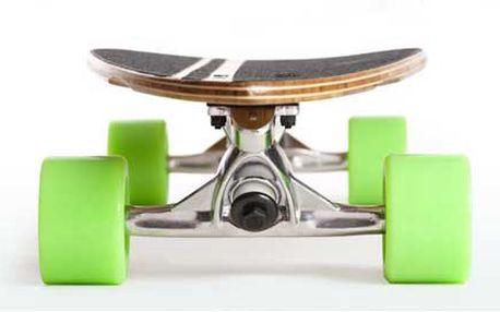 Adrenalin na asfaltových stezkách: Stylový Longboard za stabilních1490 Kč!