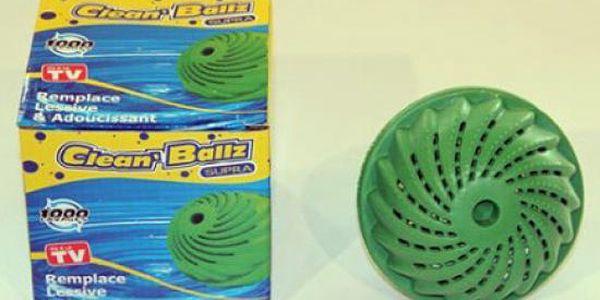 Prací koule - CLEAN BALLZ - do pračky jen za 143kč včetně poštovného. Již nikdy nebudete potřebovat prací prášek!!