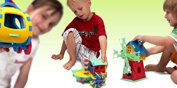 99 Kč za 3D pěnové puzzle pro děti od tří let. Rozvíjejte jejich představivost a paměť s kvalitní českou hračkou! Sleva 49 %.