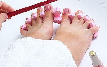 Naše nohy nás nosí celý život, a proto si zaslouží důkladnou péči. Dopřejte svým nohám koupel, pedikůru a na závěr lakování nehtů za fantastických 179 Kč! Rozmazlete svoje nohy se slevou 45 %!
