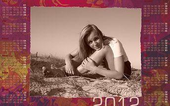 Kalendář na rok 2012 s vlastní fotografií bude tím nejkrásnějším dárkem!