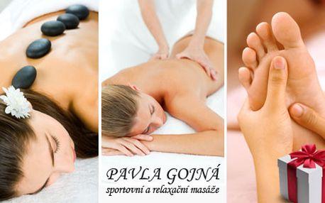 Darujte 2,5 h balíček masáží za 449 Kč. Relaxační masáž, masáž lávovými kameny, či masáž nohou lákají k vyzkoušení. Nyní s 48 % Hyperslevou.