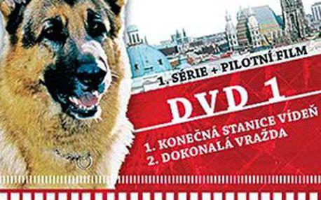 14 dílů populárního seriálu Komisař Rex na 7 DVD v plastových boxech. Všechny kriminalistické případy s policejním psem Rexem pěkně pohromadě