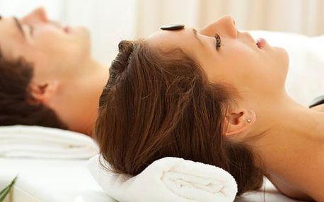 Nezapomenutelných 60 minut masáže obličeje, dekoltu a šíje pomocí nahřátých lávových kamenů a esenciálního oleje se slevou 50%! Tato masáž napomáhá vyhladit vrásky, čistí pleť a v neposlední řadě Vás zbaví stresu a únavy z každodenního života.