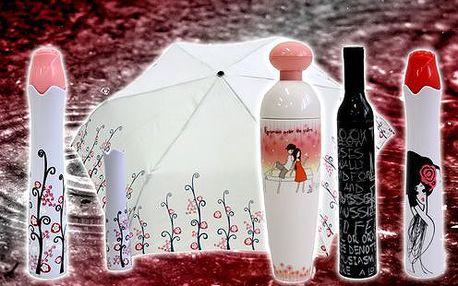 Obdarujte sebe i své blízké netradičními stylovými deštníky s nejméně 54% slevou!