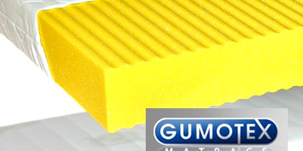 Antibakteriální matrace Gumotex – oboustranná z PUR pěny, dokonalý a zdravý spánek. Vhodná i pro alergiky. V ceně doprava
