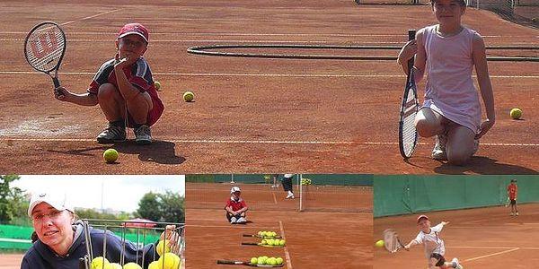 Tenisový kurz pro děti ve věku 4-6 let v Praze Troji s 30% slevou pod vedením zkušené trenérky Martiny Hlaváčkové. Dopřejte svým dětem pohyb a zábavu v zimním období.
