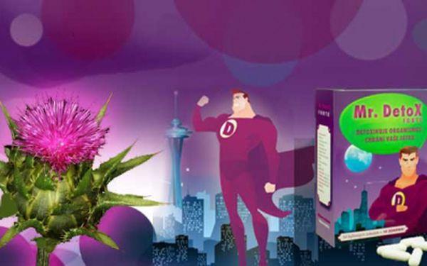 Dvouměsíční detoxikační kúra s Mr.Detox za neskutečných 249 Kč včetně poštovného! Denně do sebe dostáváme spoustu toxinů a nezdravých látek, zázračná bylina Ostropestřec mariánský Vám pomůže se jich zbavit!