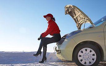 Pocit bezpečí s nohou na plynu. Zkontrolujeme Vaše auto na zimu. 75% sleva na kompletní zimní prohlídku Vašeho automobilu, začneme kontolou stavu kapalin a zastavíme se až u výfuku.