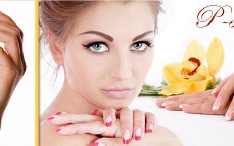 Kvalitní klasická manikúra, úprava nehtů, P-Shine a masáž rukou výživným krémem!