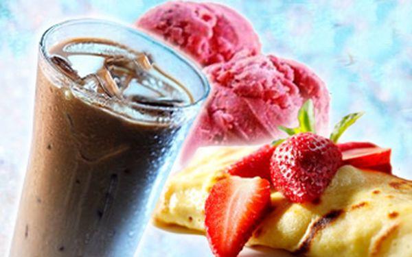 Dvě exkluzivní palačinky s horkýmijahodami, jahodovou zmrzlinou, šlehačkou a k tomu lahodné espresso Lavazza za senzačních 55 Kč! Oslaďte si předvánoční atmosféru se slevou 52 %!
