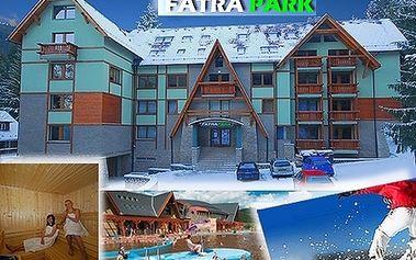 3-dňový zimný alebo jarný POBYT pre 2 osoby v Apartmánovom dome FATRAPARK! Moderné ubytovanie, uvítací drink, raňajky, stolný futbal + šípky, internet a súkromné parkovanie! K tomu krásy LIPTOVA a bohaté rekreačné možnosti!