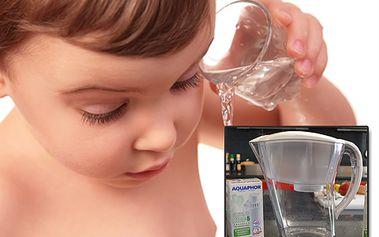 Dokonale čistá voda se 42% slevou – filtrační konvice Aquaphor se 4 vložkami jen za 599 Kč!