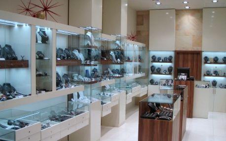 Tip na vánoční dárek! 55% sleva na VEŠKERÝ SORTIMENT luxusních šperků ze stříbra či chirurgické oceli v obchodě HS Klenoty v obchodním centru Galerie Harfa. Skvělé jako vánoční dárek nebo jen tak pro radost!