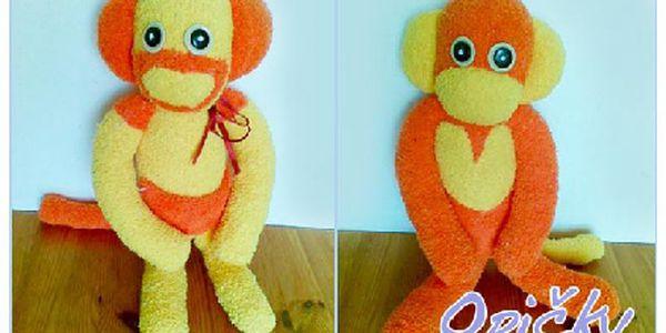 Vánoční dárek pro nejmenší! Ručně šitá Zvířátka - Roztomilé hračky. Pejsci, kočičky, opičky, zajíčci, králíčci, medvídci a Kuky.