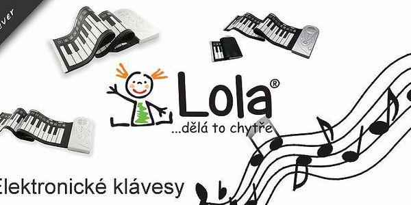 Výborný dárek nejen pro děti - Elektronické klávesy. Ocení všichni, kdo se chtějí naučit hrát na klávesy a nechtějí zabírat místo velkým klavírem!