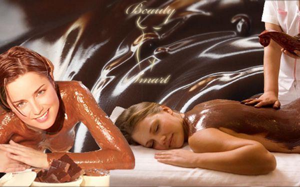 Dopřejte si luxusní péči o tělo pro dva v délce 90 minut! Čokoládová masáž, čokoládový peeling zad a čokoládový zábal!