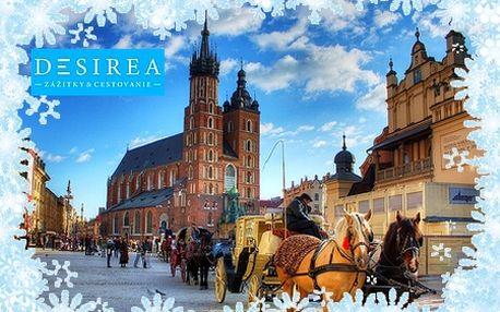 Vianočný poznávací zájazd do KRAKOWA so zľavou až 30%! Spoznajte najkrajšie miesta poľskej metropoly a zažite pravú vianočnú atmosféru adventných trhov!