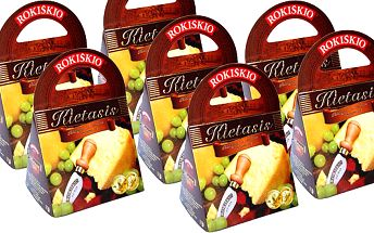 419 Kč za 7 dárkových balení delikátního litevského sýra! Tip na vánoční dárek nebo gurmánského Silvestra. Sleva 45 % !!!