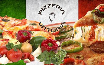 Více než 80 pokrmů z nabídky pizzerie Vittoria s úžasnou slevou 50%! Výborná pizza z pece, domácí těstoviny, různé druhy masa, ryby i saláty! Náš degustátor tuto restauraci prověřil a doporučuje ji!