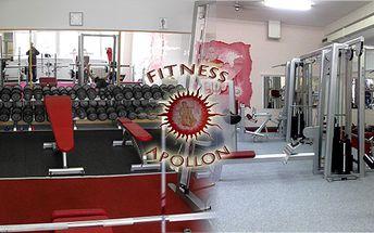 Permanentka na 10 vstupů do nově zrekonstruovaného a zařízeného fitness na Luka!