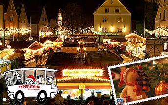 Celodenní výlet do německého města Weiden, vstup do aquaparku (v ceně), adventní trhy a možnost nákupů. To jsou pohodové neděle s CA Experitour.