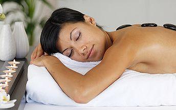 Havajská masáž lávovými kameny za skvělých 350 Kč! 60 minutová hřejivá relaxace za studených dnů podzimu a zimy s fantastickou slevou 54 %!
