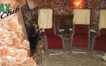 10 vstupů do SOLNÉ JESKYNĚ v Relax Clubu na Jižních Svazích jen za 549 Kč! Jeden vstup za necelých 55 Kč! Vhodné jako vánoční dárek! Přijďte se i Vy nechat unést třpytivou krásou a tajemnou atmosférou naší solné jeskyně.