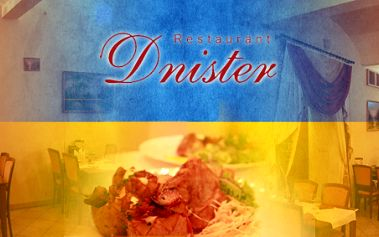 Ukrajinská pochoutka pro dva – kotlety Karpaty v křupavém těstíčku s pečenými bramborami a tradiční palačinky Nalysnyky! Náš degustátor tuto restauraci prověřil a doporučuje ji!