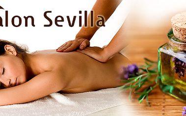 Hodinová Aromaterapeutická masáž spojená s peelingem a parafínovým zábalem rukou! Dokonalé hodinové uvolnění těla i mysli v příjemném prostředí salónu Sevilla!