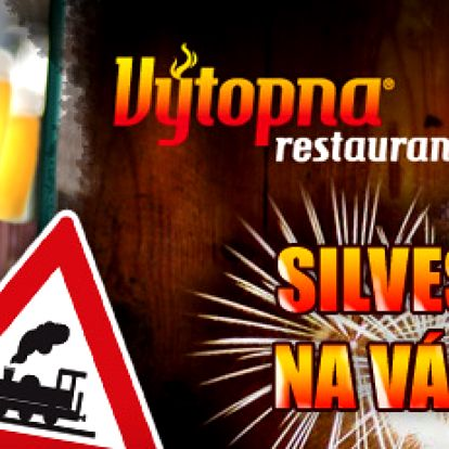 SILVESTR na Václavském náměstí v zážitkové restauraci Výtopna s 50% slevou jen za 999 Kč!! Neomezené jídlo!! Zábavný program!! Rozvoz nápojů vláčkem přímo na váš stůl!! Originální oslava příchodu nového roku!! Ušetřete s námi na jednom člověku 1 001 Kč!!