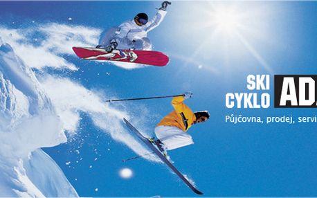 Servis sjezdových lyží, běžecký lyží a snowboardu v autorizovaném skiservisu!