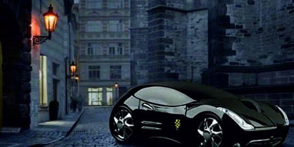 Designová pecka jen za 249 Kč!! Černá optická USB myš ve tvaru Ferrari! Dopřejte si tento hit se slevou 58%!