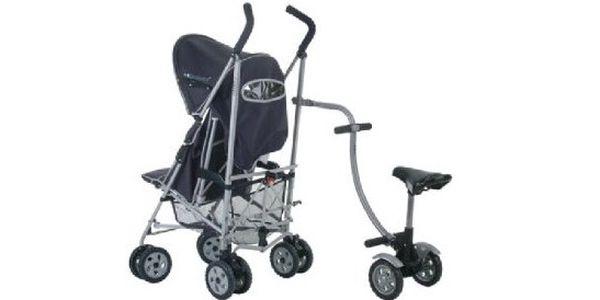 Swiss Strolli Rider - úžasná pomůcka pro všechny maminky, které mají víc než jedno dítko!