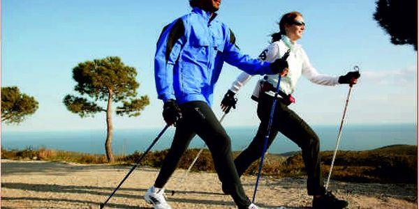 Buďte vždy fit! Hole na populární Nordic Walking jen za 179 Kč!! Vhodné pro delší tůry nebo i kratší cesty!