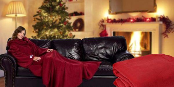 Nechte se inspirovat a obdarujte své blízké dárkem, který zaručeně zahřeje u srdce! SNUGGIE - originální deka s rukávy. Vhodná pro chladné večery, ať v pohodlí Vašeho domova, nebo v přírodě. Nyní za báječných 135 Kč!