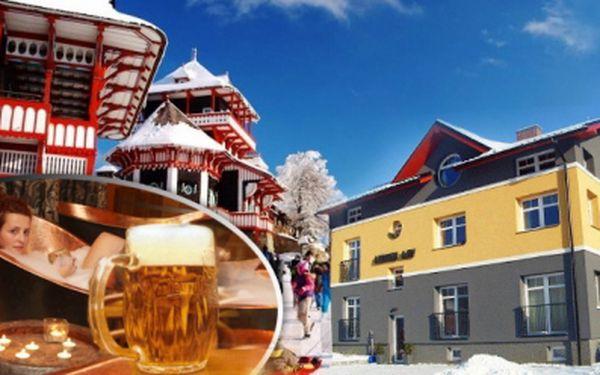 LÁZEŇSKÝ TŘÍDENNÍ pobyt v Rožnově pod Radhoštěm s ozdravnými PROCEDURAMI v pivních lázních a exkurzí pivovaru, Valašského skanzenu, nebo biofarmy! Vila Hedvika*** za skvělou cenu 1590 Kč, sleva 55%!