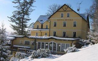 Zimní romance v hotelu Arnika*** v Krkonoších