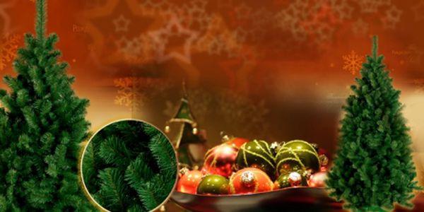 Krásná vánoční jedlička za vánočních 950 Kč! Ušetřete živé stromky - nadělte dárky pod hustou umělou jedličku (190 cm) včetně podstavce, která nikdy neopadá!