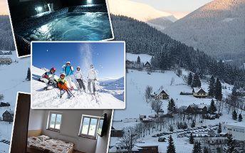 5denní pobyt v Peci pod Sněžkou se ski-passem s 40% slevou!