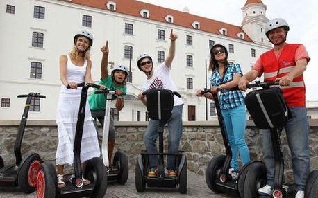 120-minútová alebo 180-minútová jazda Bratislavou na SEGWAY s inštruktorom! Vznášajte sa po hlavnom meste na ekologickom vozidle len teraz so zľavou až do 55%! CityKupón platí až do 31. 05. 2012! Tip na netradičný darček!