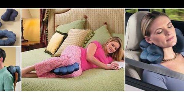Získajte zdravotný vankúš Total Pillow so zľavou 60%! Zbavte sa bolesti chrbta a šije iba za 6EUR!