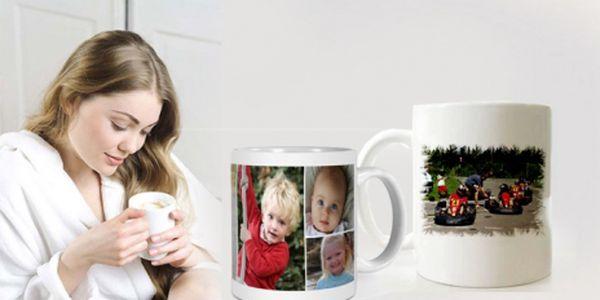Tip na originální Vánoční dárek! Bílý keramický hrnek s fotografií dle Vašeho ýběru se slevou 41% ! Překvapte své blízké jedinečným dárkem za fantastickou cenu 99 Kč!